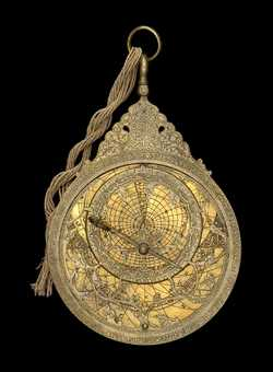 astrolabe, inventory number 45581 from Persia, ca. 1660