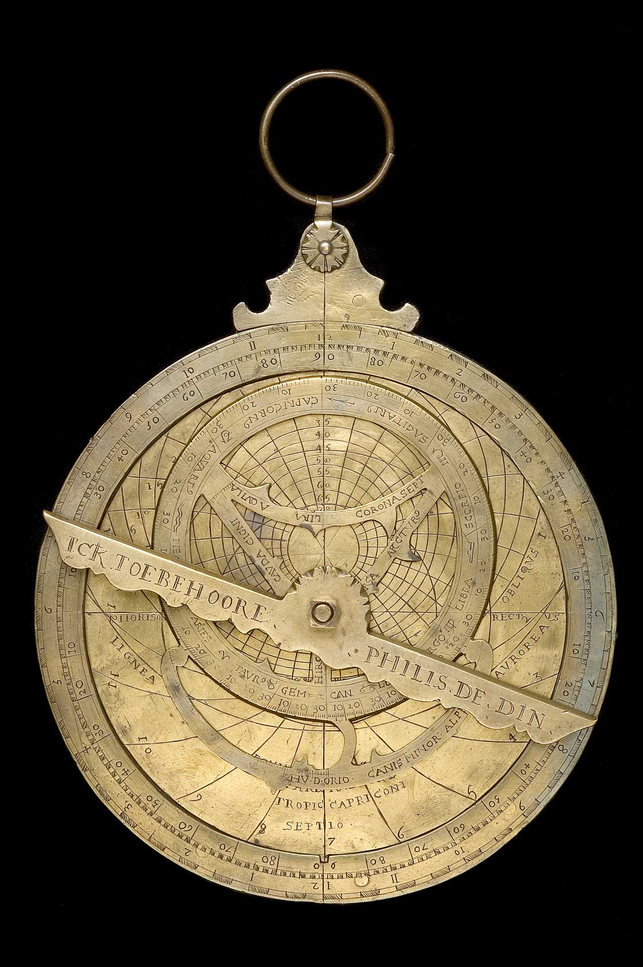 Astrolabe Image Report Inventory Number 52473: Astrolabe Report (inventory Number 45975