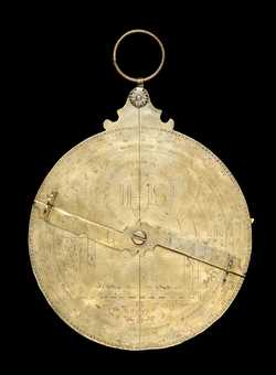 Full image of Astrolabe of Philis de Din, French?, 1595 (Inv. 45975)