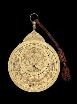 astrolabe, inventory number 46886 from Persia, ca. 1660