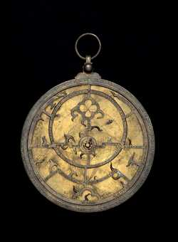 astrolabe, inventory number 47615 from Europe, 14th century