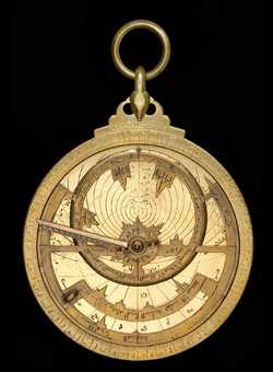 astrolabe, inventory number 47632 from Syria, late 9th century