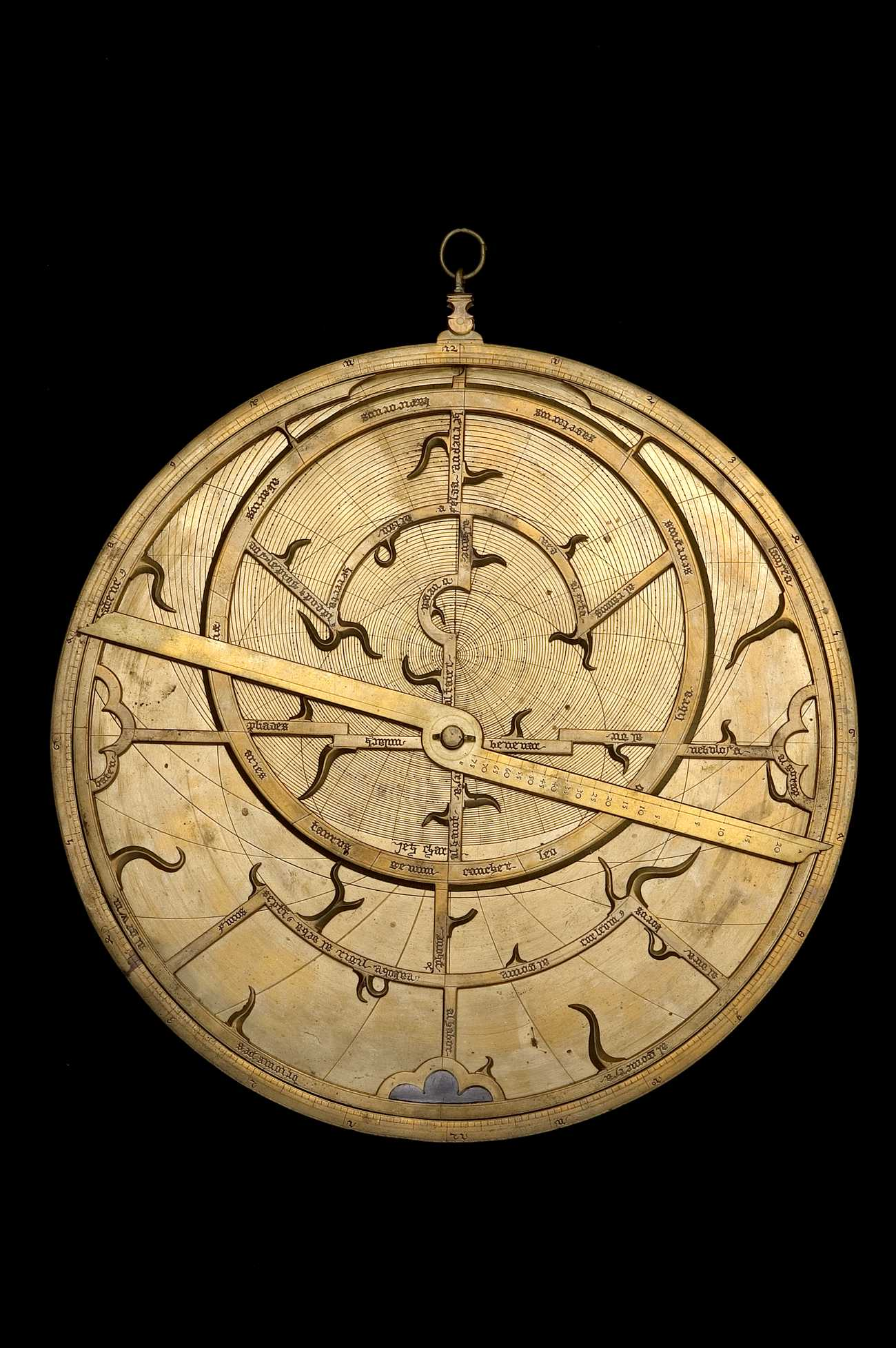 Astrolabe Image Report Inventory Number 52473: Astrolabe Report (inventory Number 47674