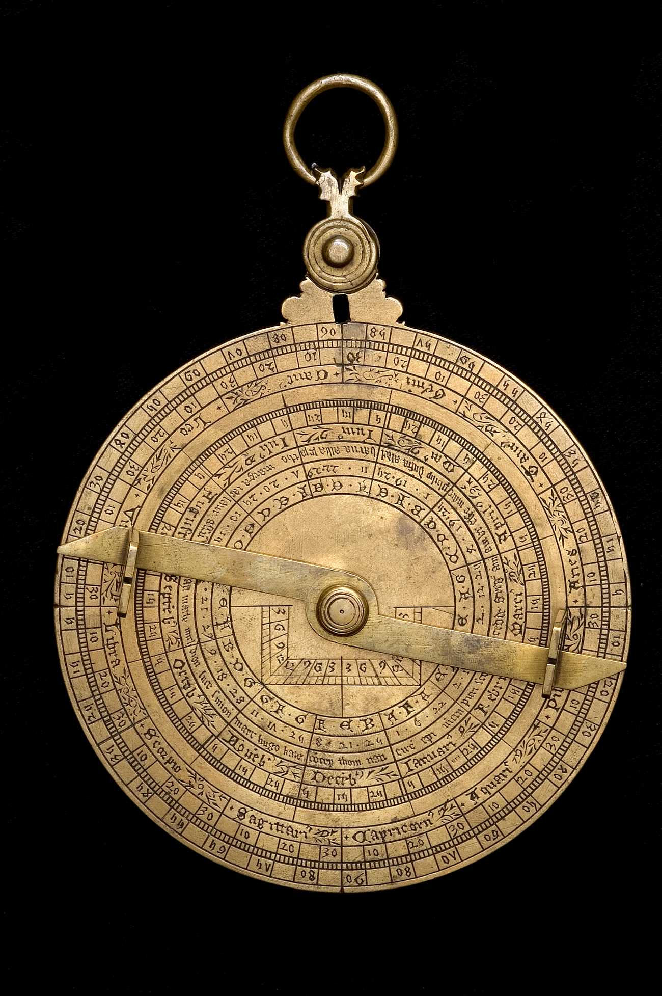 Astrolabe Image Report Inventory Number 52473: Astrolabe Report (inventory Number 47869