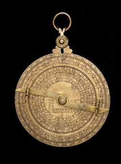Astrolabe, English, c.1370 (Inv. 47869)