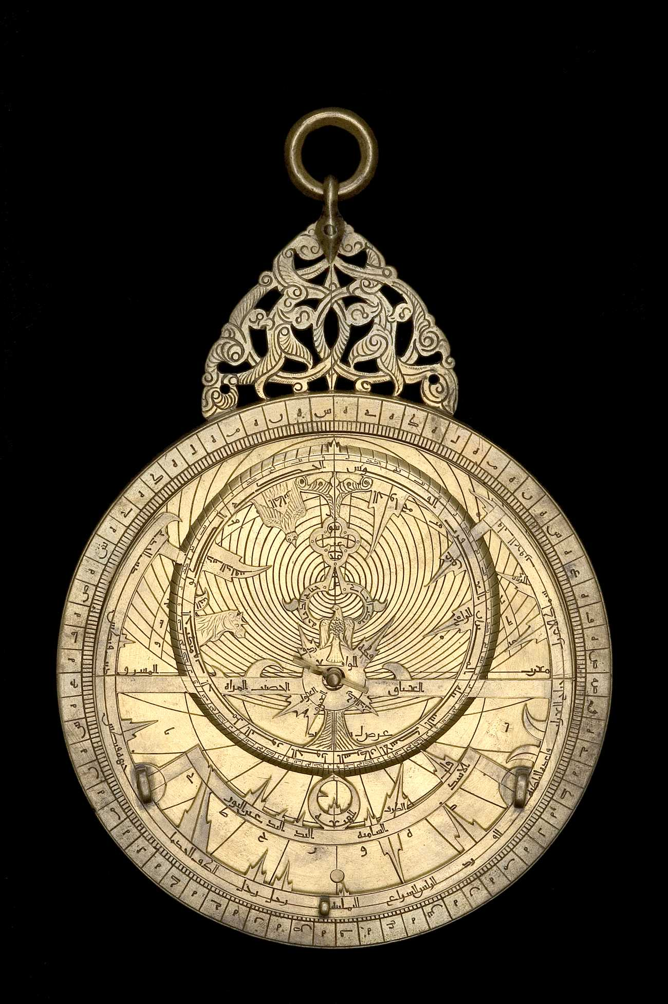 Astrolabe Image Report Inventory Number 52473: Astrolabe Report (inventory Number 48213