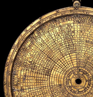 astrolabe, inventory number 48892 from Zaragosa, 1558