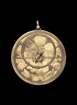 astrolabe, inventory number 49033 from Spain (?), ca. 1250