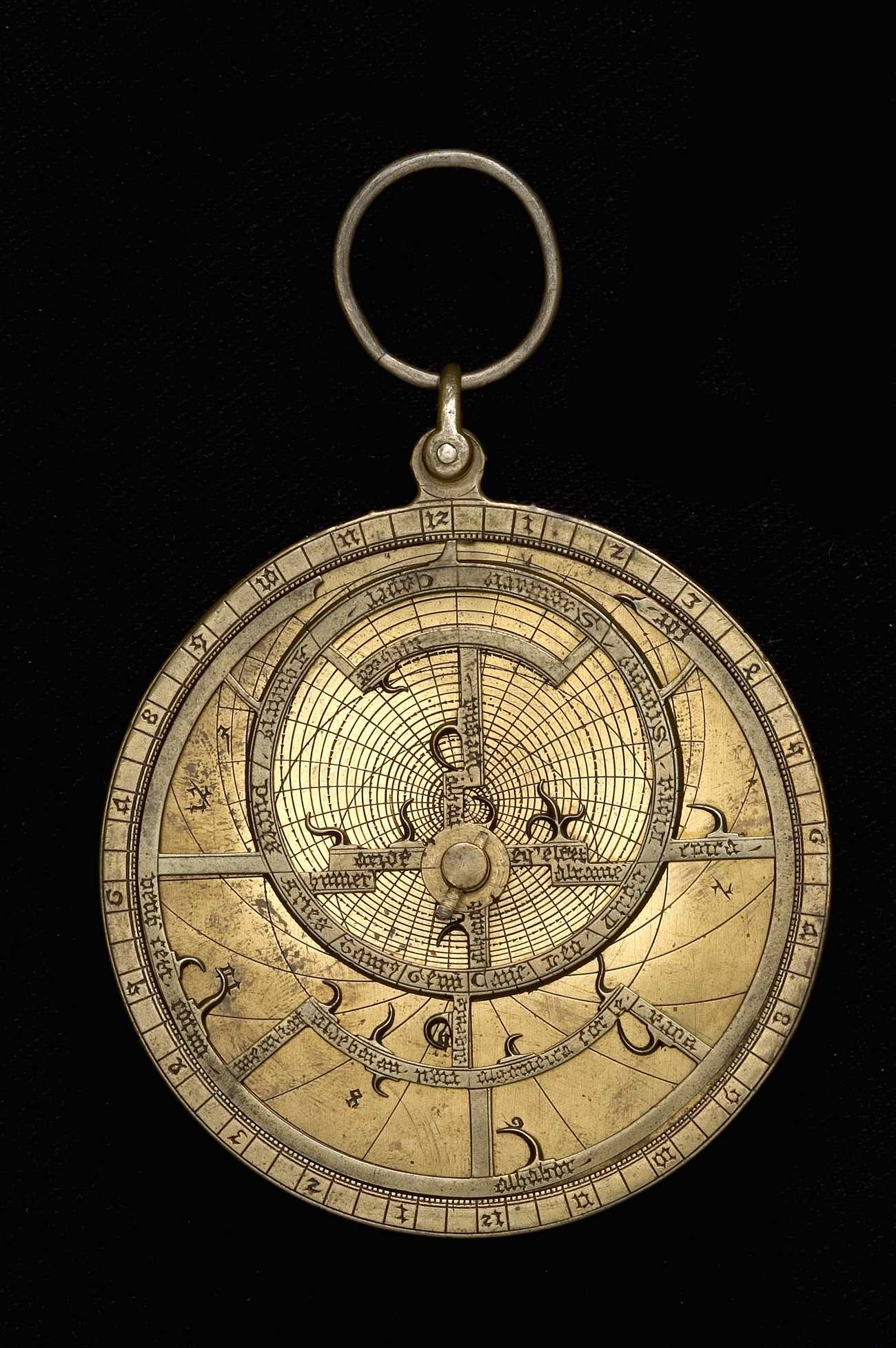 Astrolabe Image Report Inventory Number 52473: Astrolabe Report (inventory Number 49636