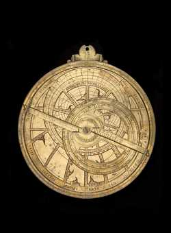 Full image of Astrolabe plate, southern France or Italy, late 15th century (Inv. 49847)