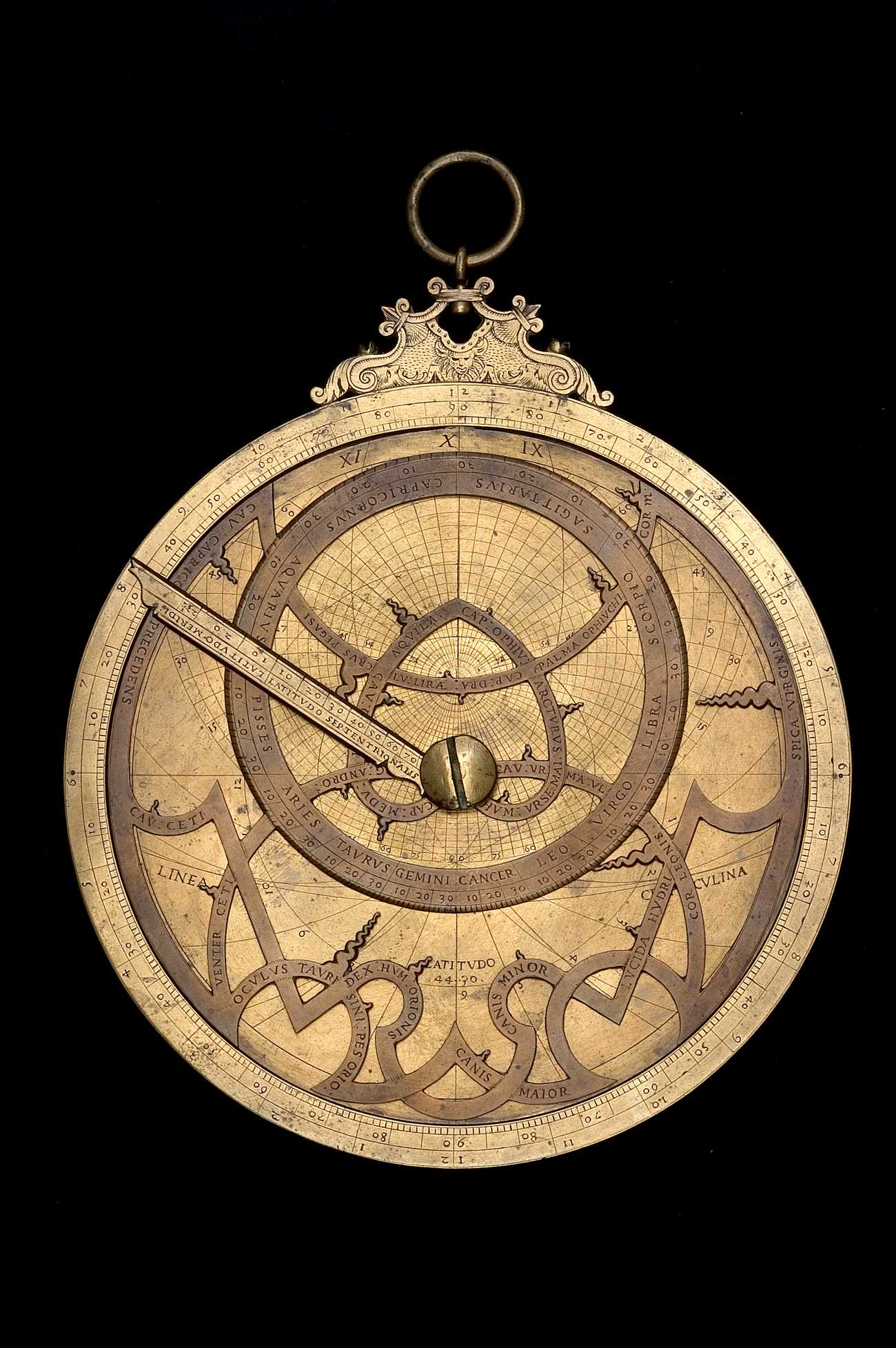 Astrolabe Image Report Inventory Number 52473: Astrolabe Report (inventory Number 50257