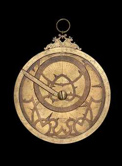 Astrolabe, by Giovanni Domenico Fecioli, Trento or Bologna, 1558  (Inv. 50257)