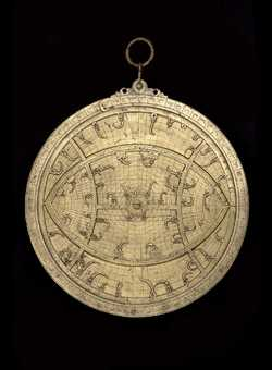 astrolabe, inventory number 50853 from Taza, 1327/28 (A.H. 724)