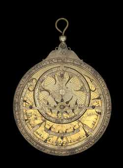 astrolabe, inventory number 50934 from Seville, 1224/5 (A.H. 621)