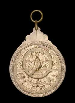 astrolabe, inventory number 51182 from Persia, 1505/06 (A.H. 911)