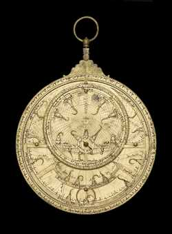 astrolabe, inventory number 51459 from Morocco, 1733/4 (A.H. 1146)