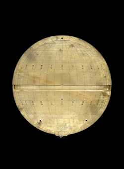 astrolabe, inventory number 51786 from London, 1659