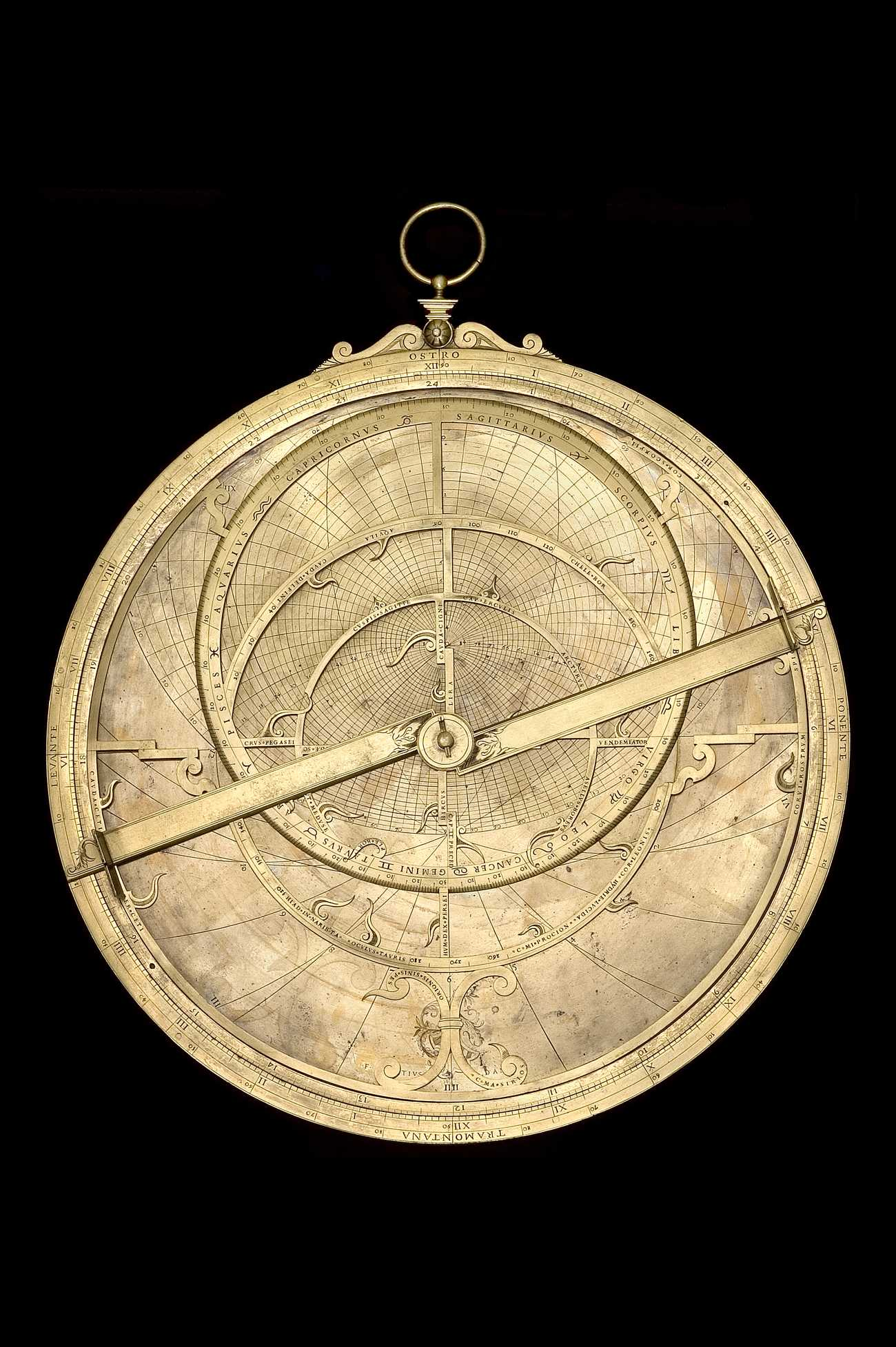 Astrolabe Image Report Inventory Number 52473: Astrolabe Report (inventory Number 52209