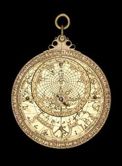 astrolabe, inventory number 52473 from Guadalajara, 1081/2
