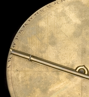 astrolabe, inventory number 52478 from India, 18th century
