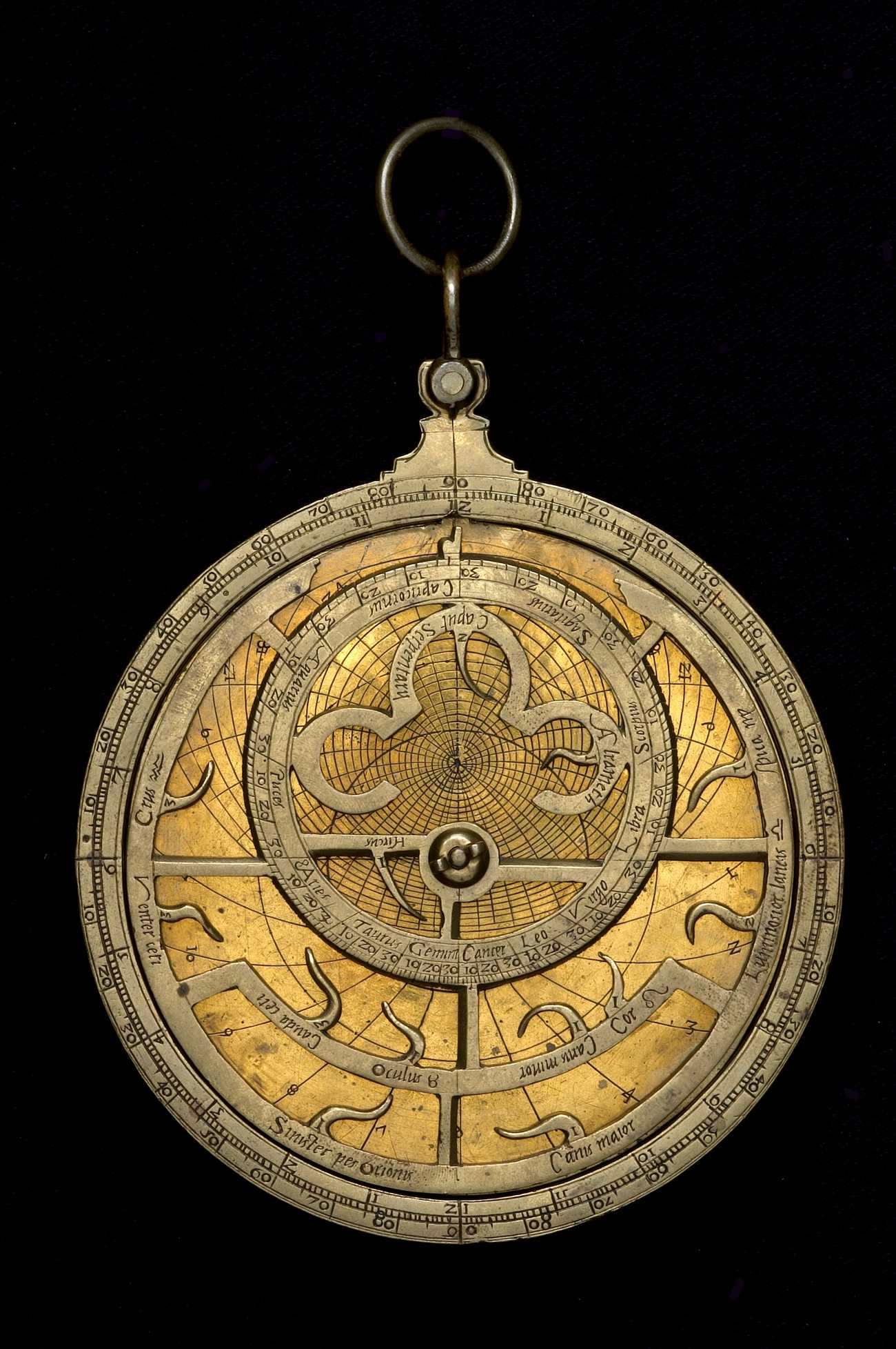 Astrolabe Image Report Inventory Number 52473: Astrolabe Report (inventory Number 52528