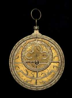 astrolabe, inventory number 52528 from Europe, early 16th century