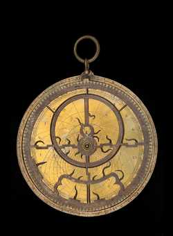 Astrolabe with Universal Projection, c.1400    (Inv. 52869)