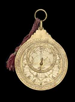 astrolabe, inventory number 53307 from Turkey, 17th century (?)