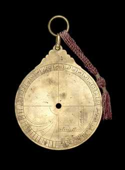 astrolabe part (photo)