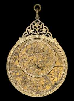 astrolabe, inventory number 53637 from Lahore, 1658/9