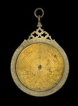 astrolabe, inventory number 54063 from India, ca. 1650
