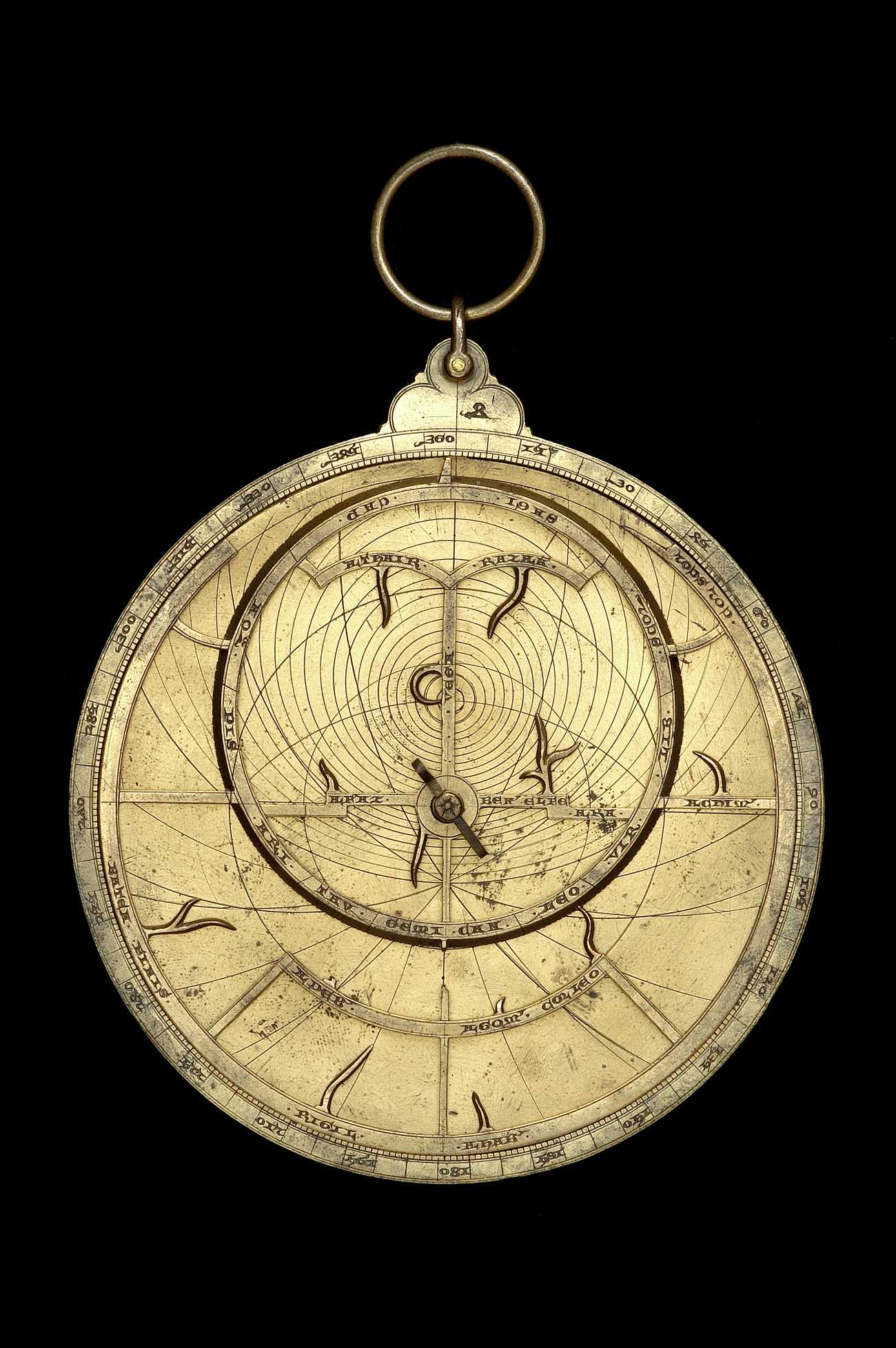 Astrolabe Image Report Inventory Number 52473: Astrolabe Report (inventory Number 54330