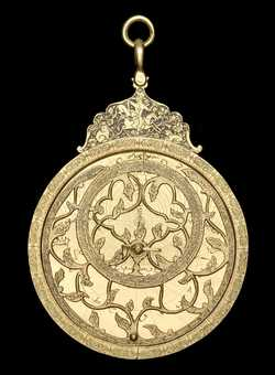 astrolabe, inventory number 54607 from Persia, 17th century