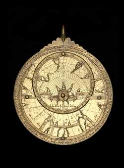 astrolabe, inventory number 55331 from Toledo, 1068 (A.H. 460)