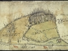 View of fields in Newnham, Hampshire, Mid-sixteenth century.  Winchester College Muniments, no. 3233
