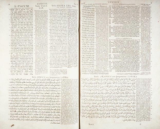 Walton's London Polyglot Bible