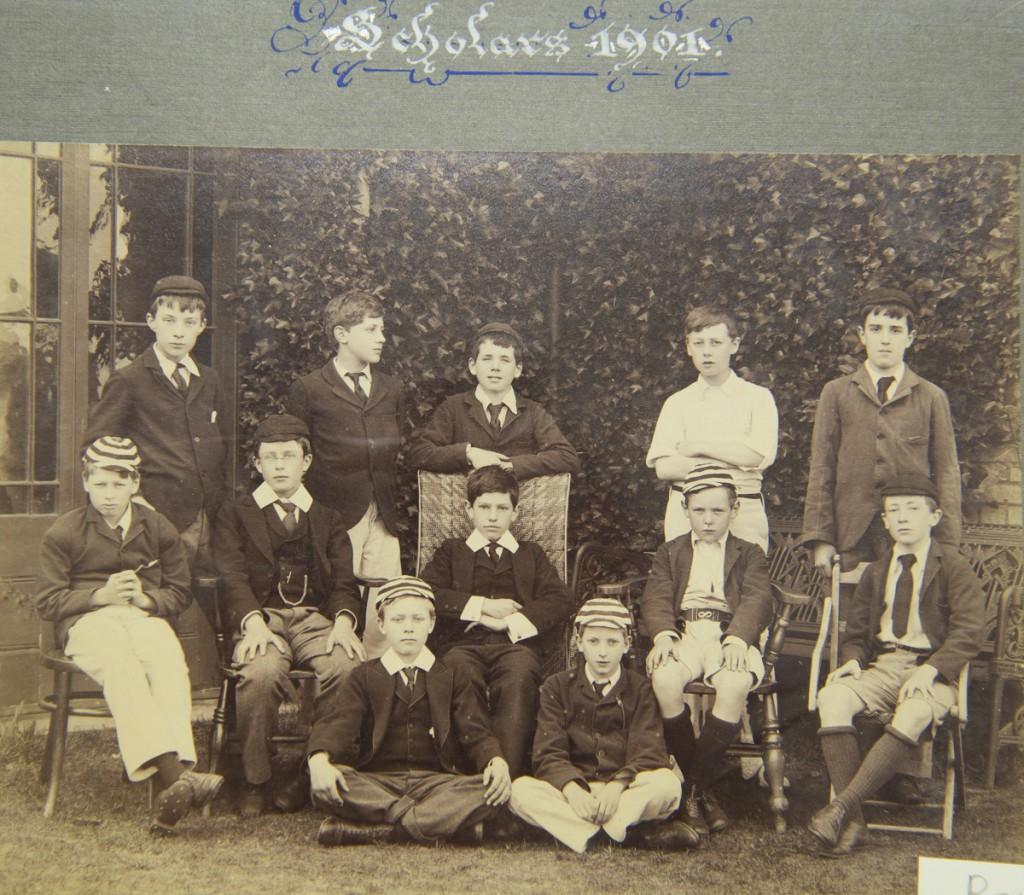 Summer Fields 1901 Scholars