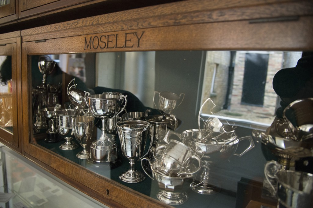 School cups and prizes awarded to Moseley House, Summer Fields