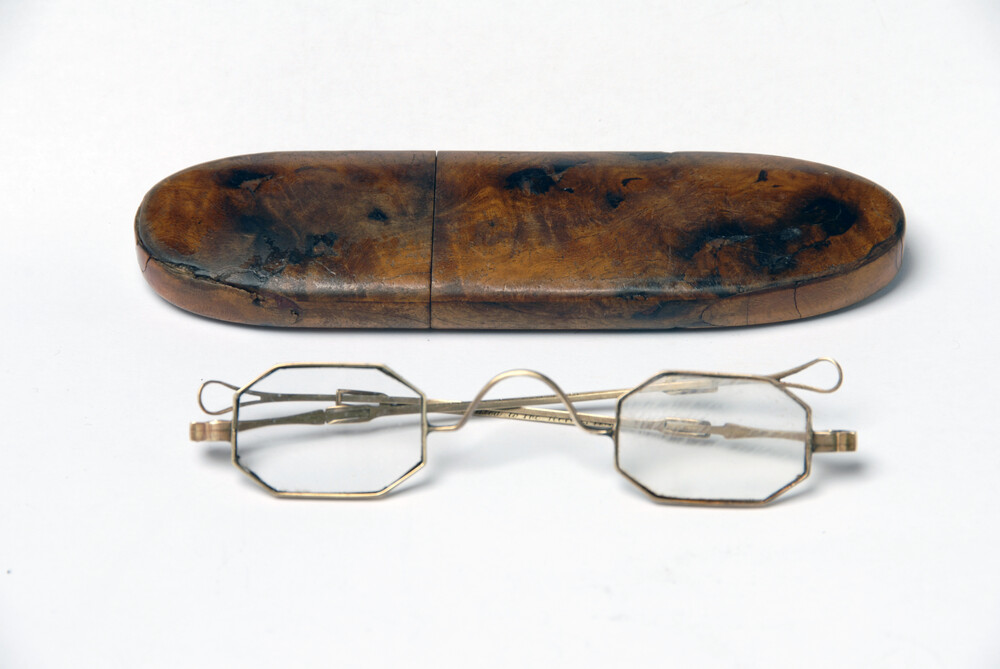 preview image for Octagonal Spectacles and Case, 1868