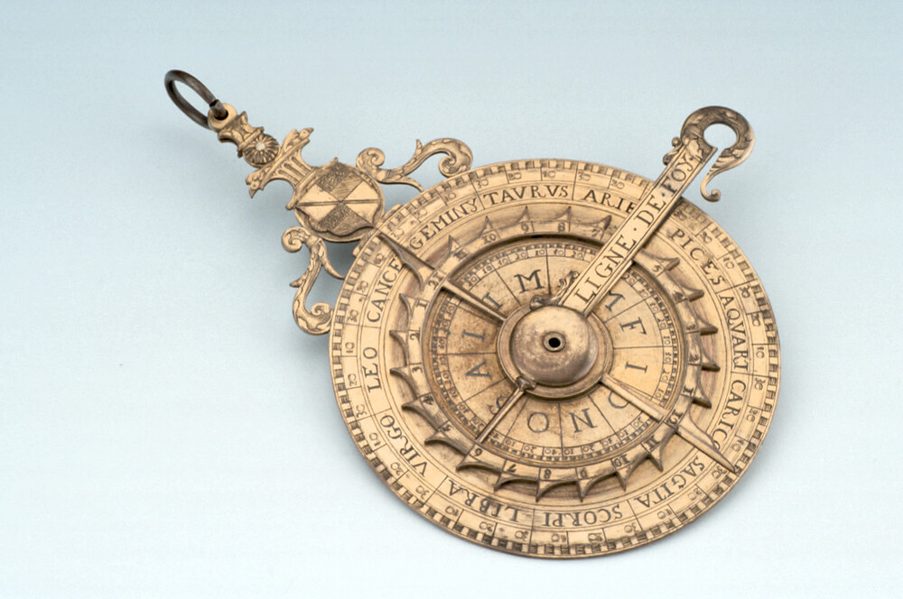 preview image for Nocturnal and Horizontal Dial, French, 1589