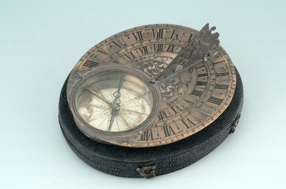 preview image for Butterfield-Type Horizontal Dial, by George, Paris, c. 1750