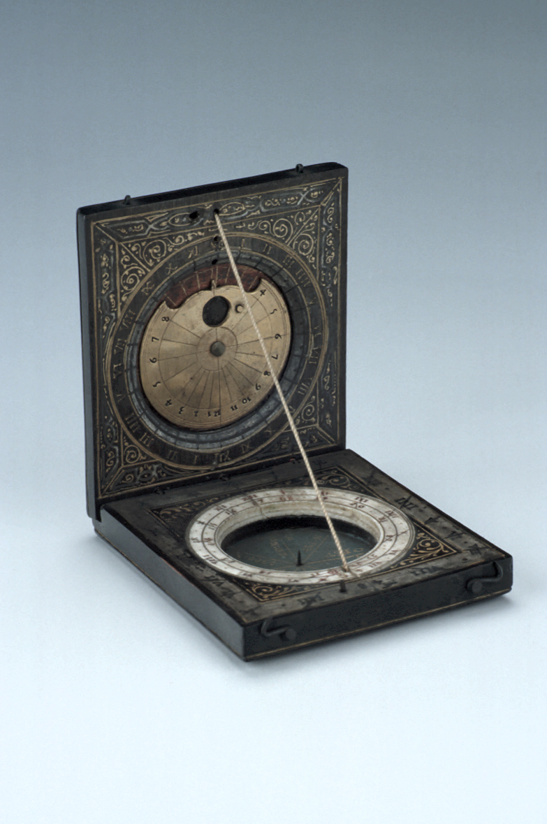 preview image for Diptych Dial, French, c. 1600