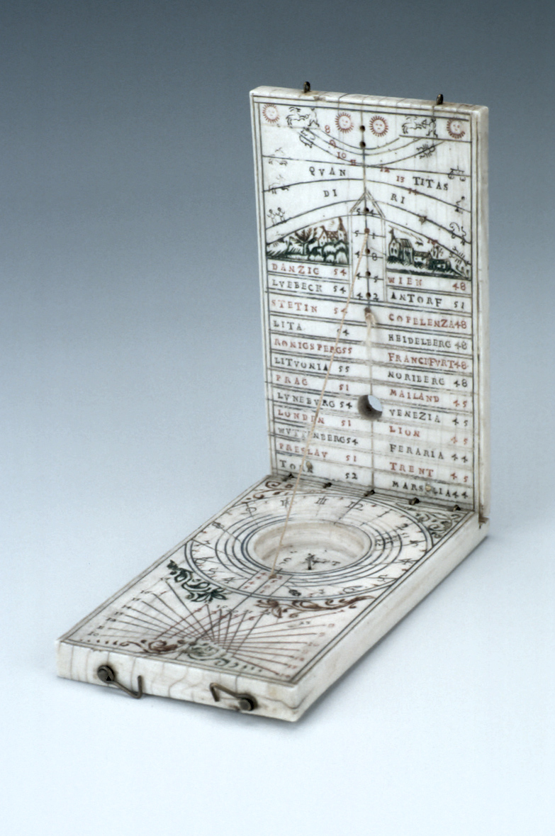 preview image for Diptych Dial, German, 1692