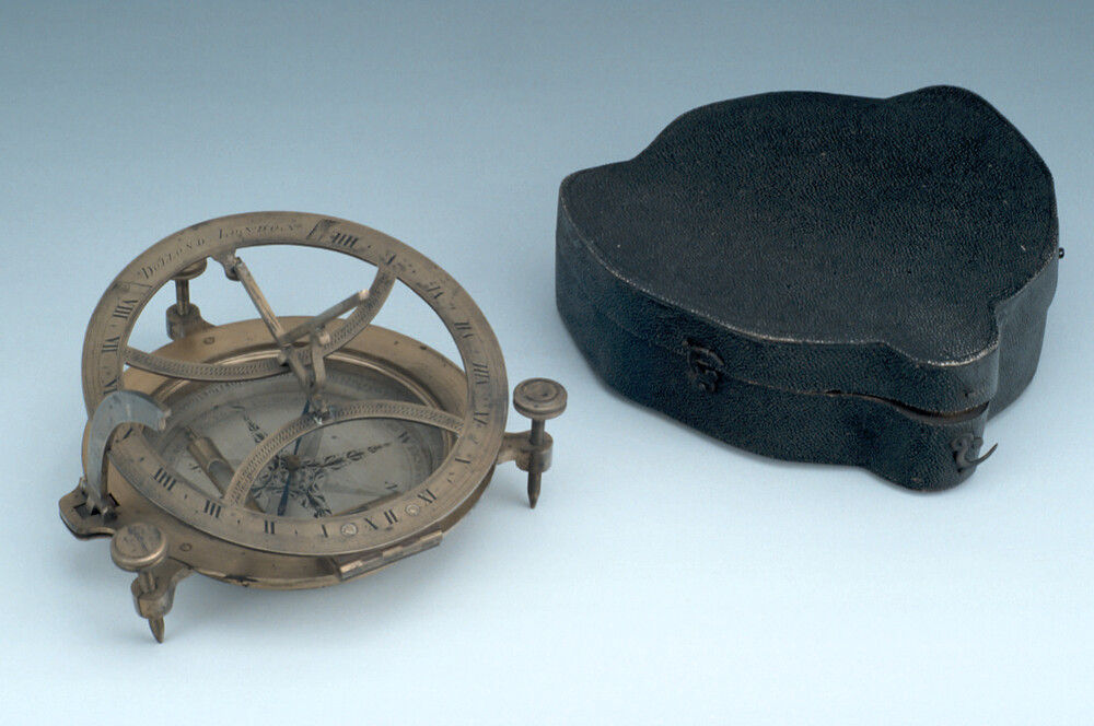 preview image for Inclining Dial, by Dollond, London, c. 1750