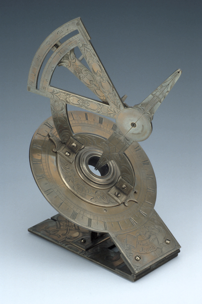 preview image for Mechanical Equinoctial Dial, by Franz Anton Knittl, German, Early 18th Century