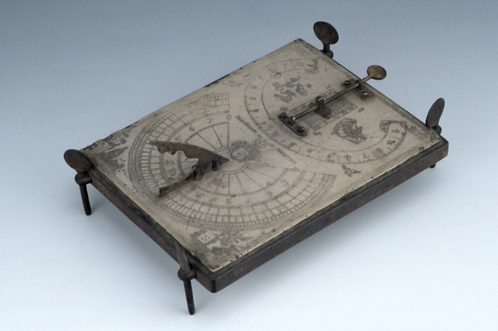 preview image for Stone Inclining Analemmatic Dial, German, 1697