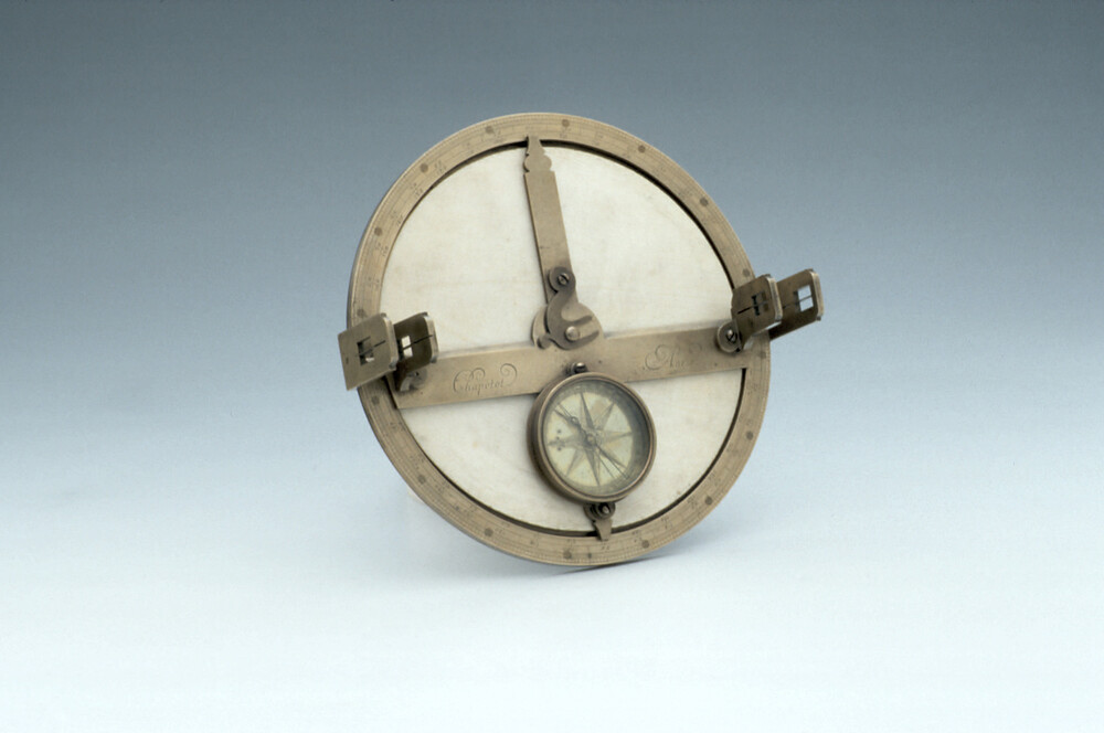 preview image for Surveying Planchette or Simple Theodolite, by Chapotot, Paris, Early 18th Century