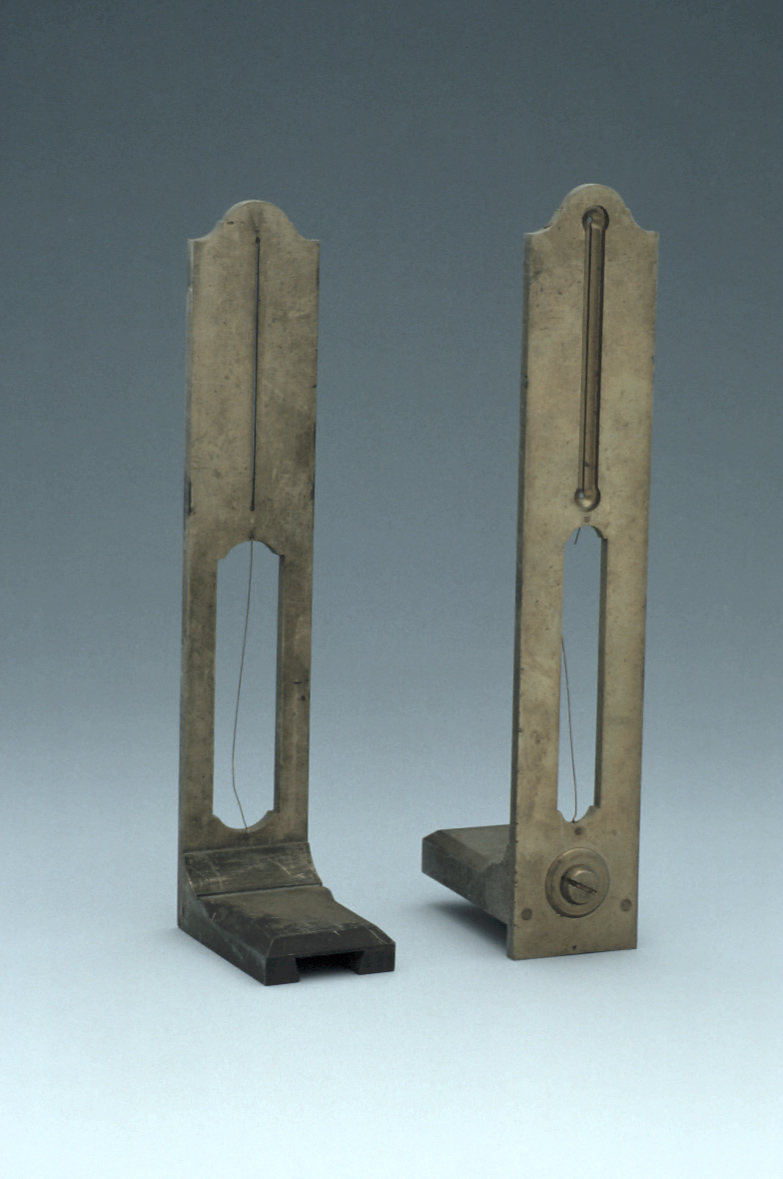 preview image for Pair of Sights for a Surveying Instrument, c. 1800?
