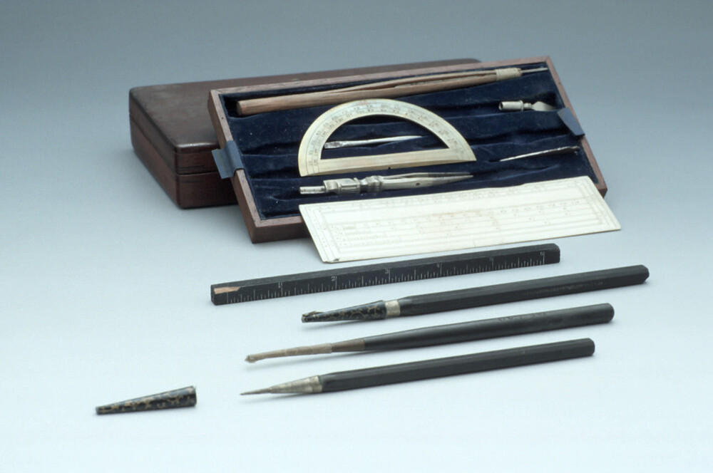 preview image for Case of drawing instruments, Late 19th Century