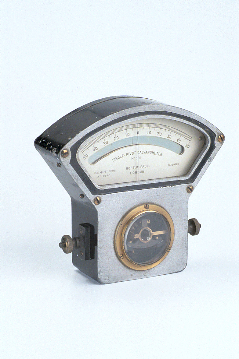 preview image for Moving Coil Galvanometer - Unipivot Needle Pattern, by Robert W. Paul, London, c. 1910